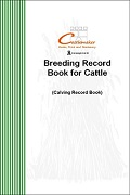 Breeding Record Book for Cattle