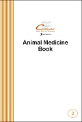 Animal Medicine Record Book