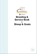 Breeding & Service Record Book for Sheep & Goats